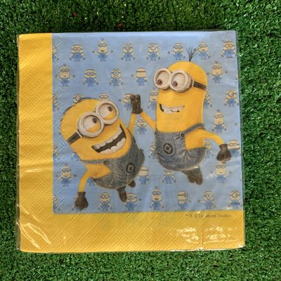 Despicable Me 20 x Despicable Me Lovely Minions  - Napkins