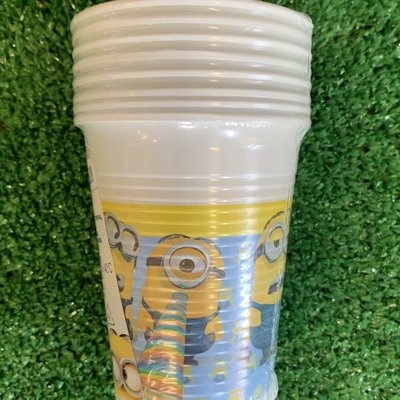 Despicable Me 8 x Despicable Me Lovely Plastic 200ml Cups