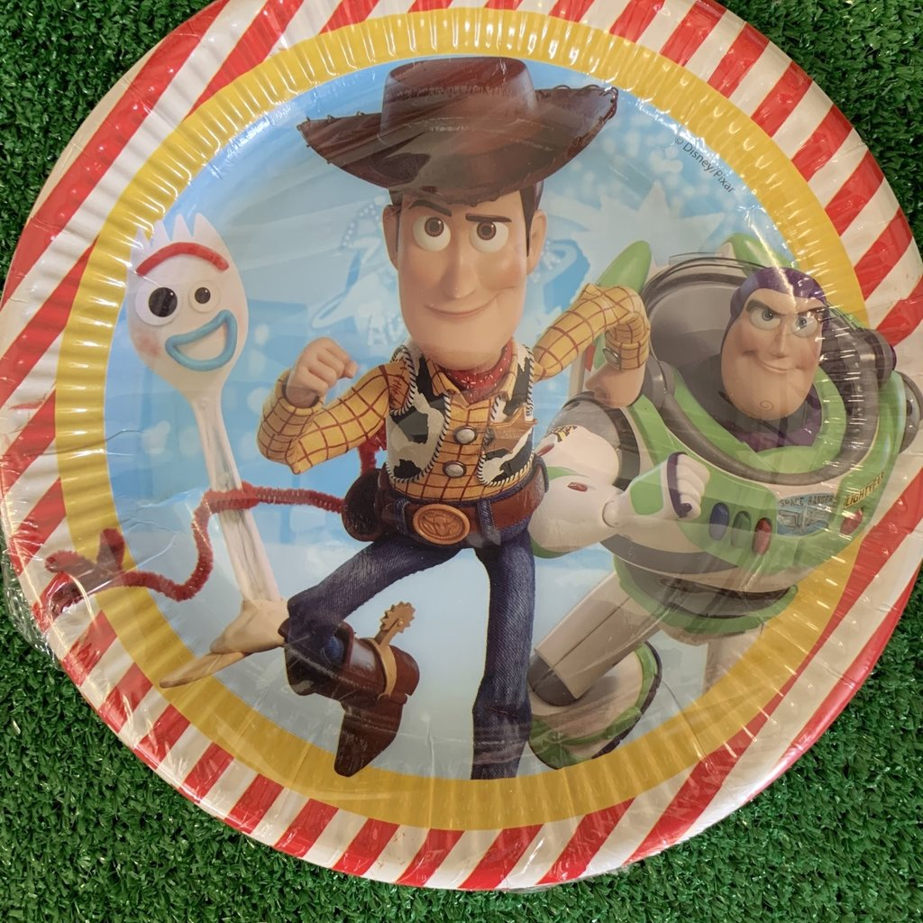 Toy Story 4 8 x Toy Story 4 Paper Plates