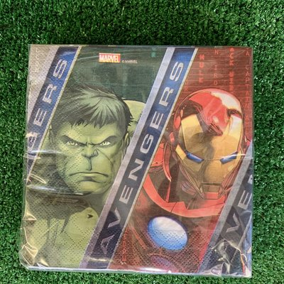Marvel 20 x 2ply Avengers Power - Napkins