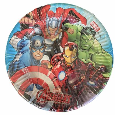 Marvel 8 x Mighty Avengers 19.5cm Paper Plates