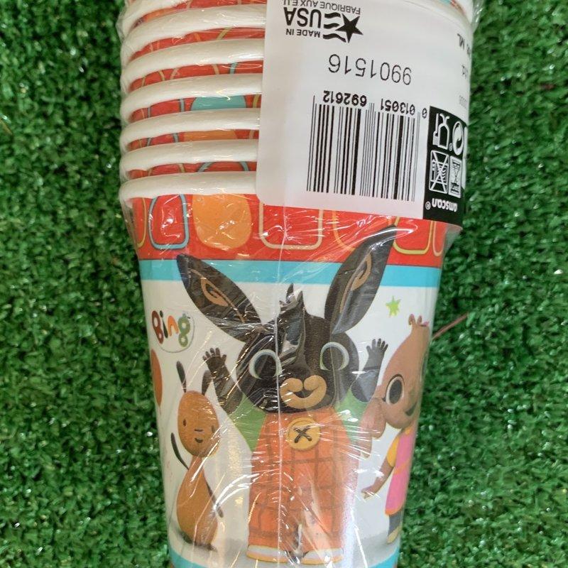 Bing 8 x Bing 266ml Paper Cups