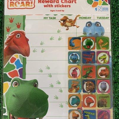 Dinosaur Roar Dinosaur Roar Reward Chart