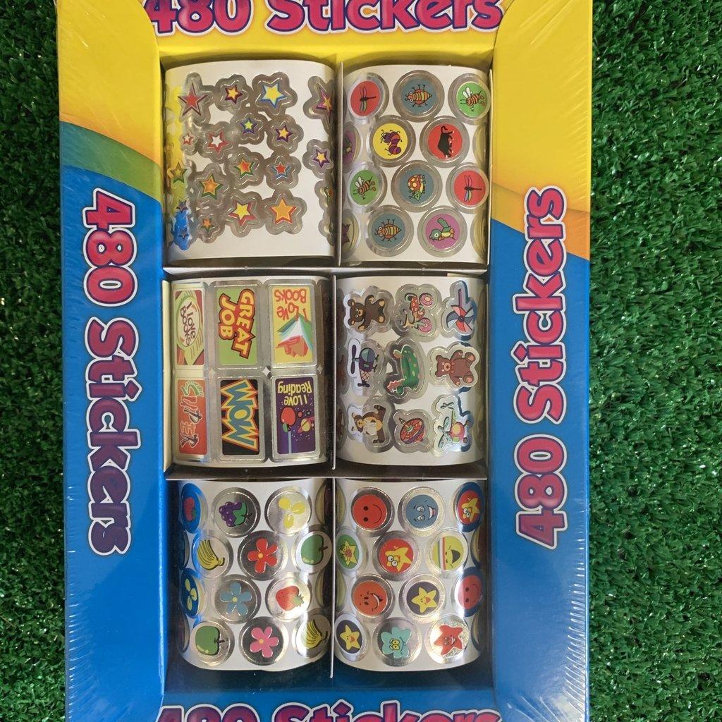 Art Box 480 Foil Stickers