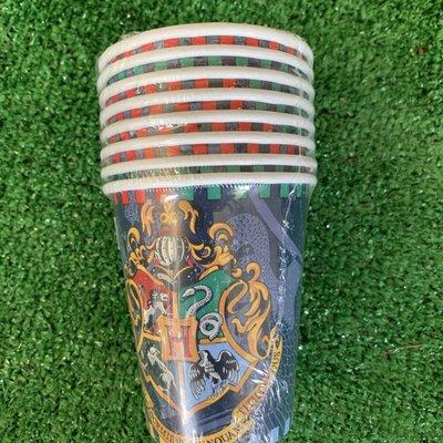 Harry Potter 8 x Harry Potter 9oz Paper Cups