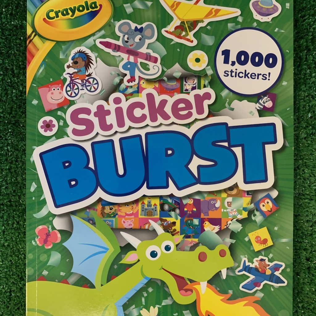 Crayola Crayola Green Burst Sticker Book