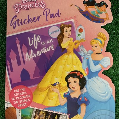 Disney Disney Princess Shaped Sticker pad
