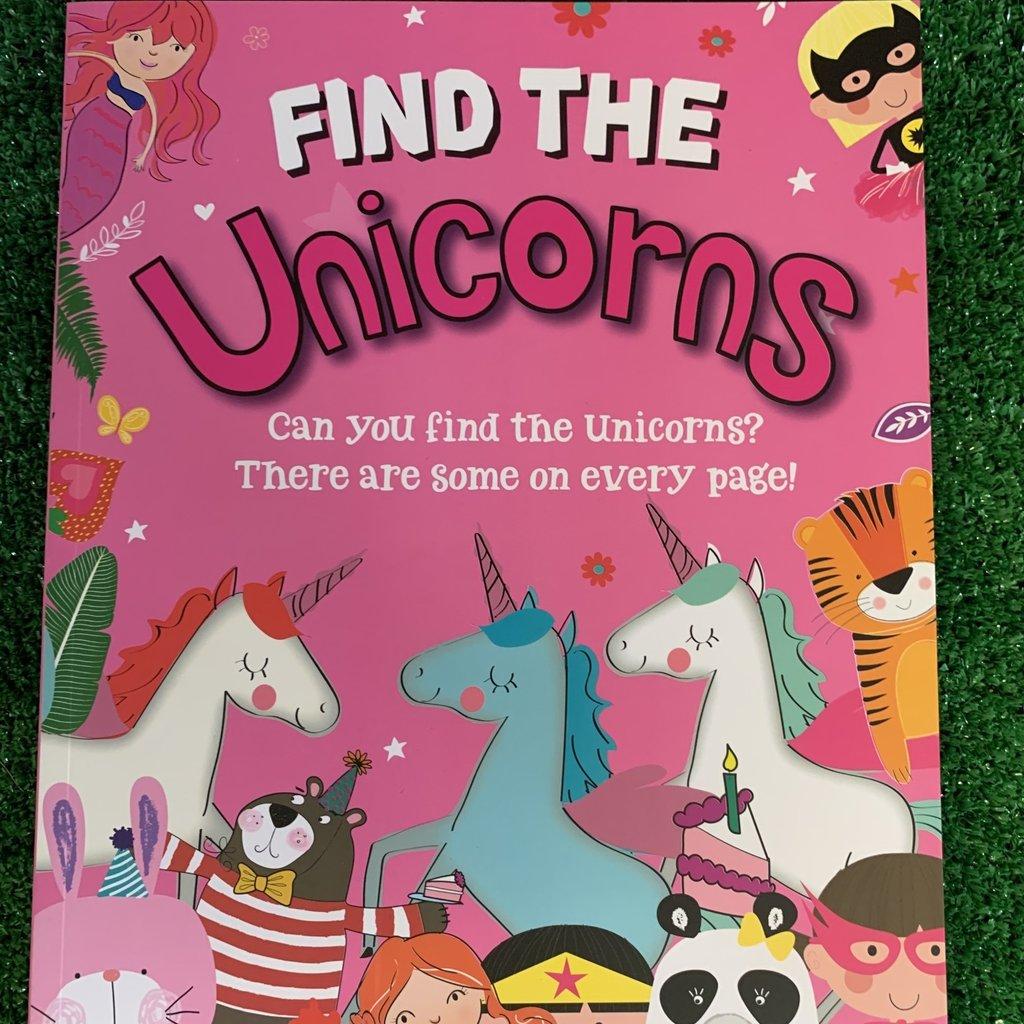 Eurowrap Find The Unicorns Book