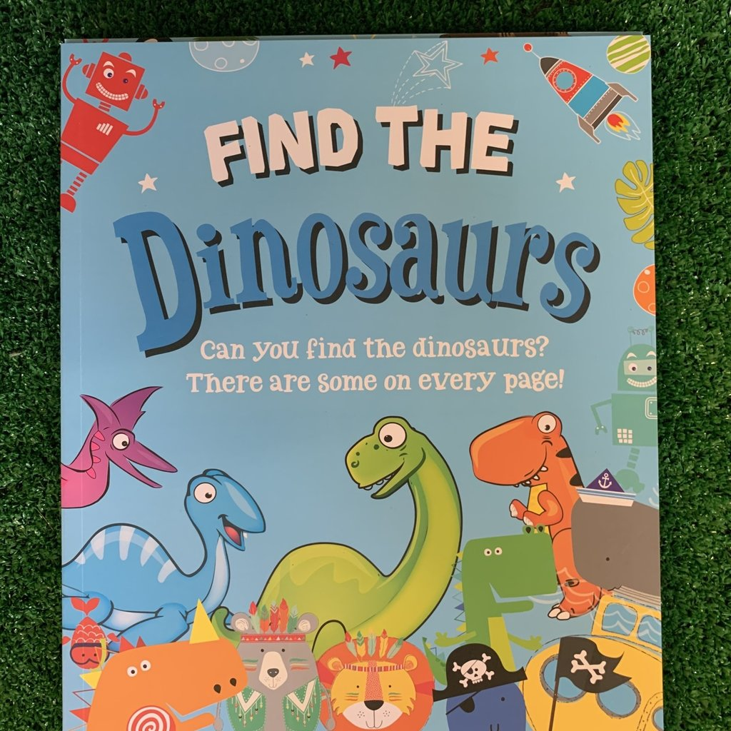 Eurowrap Find The Dinosaurs Book