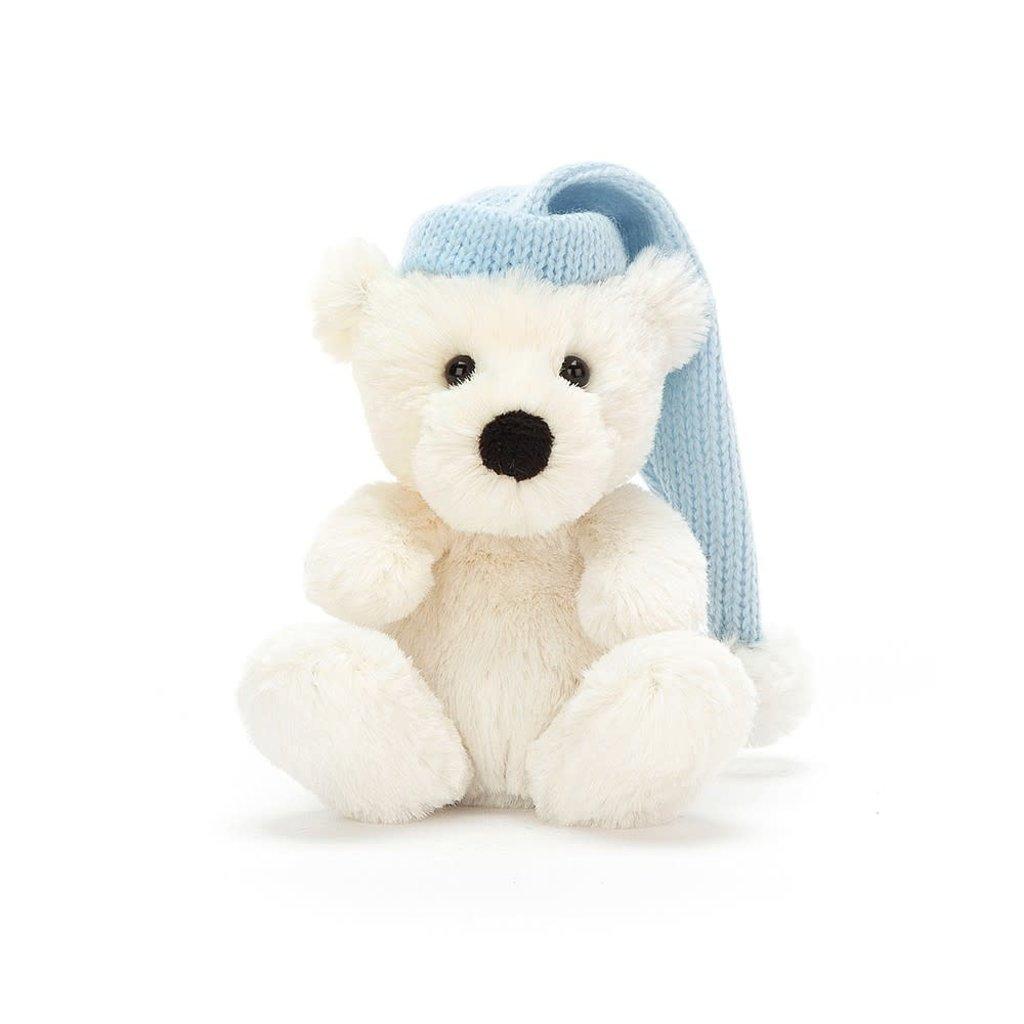 Jellycat - Jingle Jingle Jellycat - Poppet Polar Bear Tiny