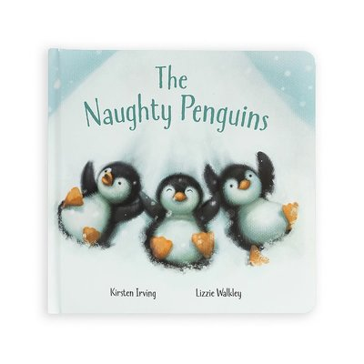 Jellycat - Story Book The Naughty Penguins Book