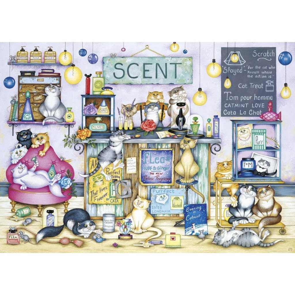 Gibsons Scent Puzzle - 1000pcs