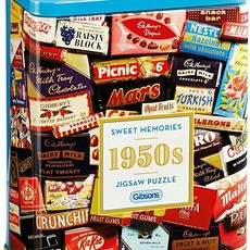 Gibsons 1950s Sweet Memories Puzzle in Gift Tin - 500pcs