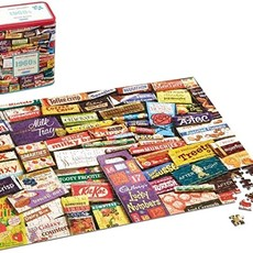 Gibsons 1960s Sweet Memories Puzzle in Gift Tin - 500pcs