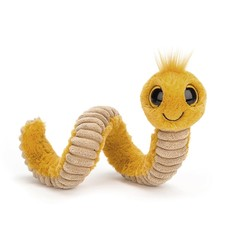 Jellycat - Pocket Pals Jellycat - Wiggly Worm - Yellow