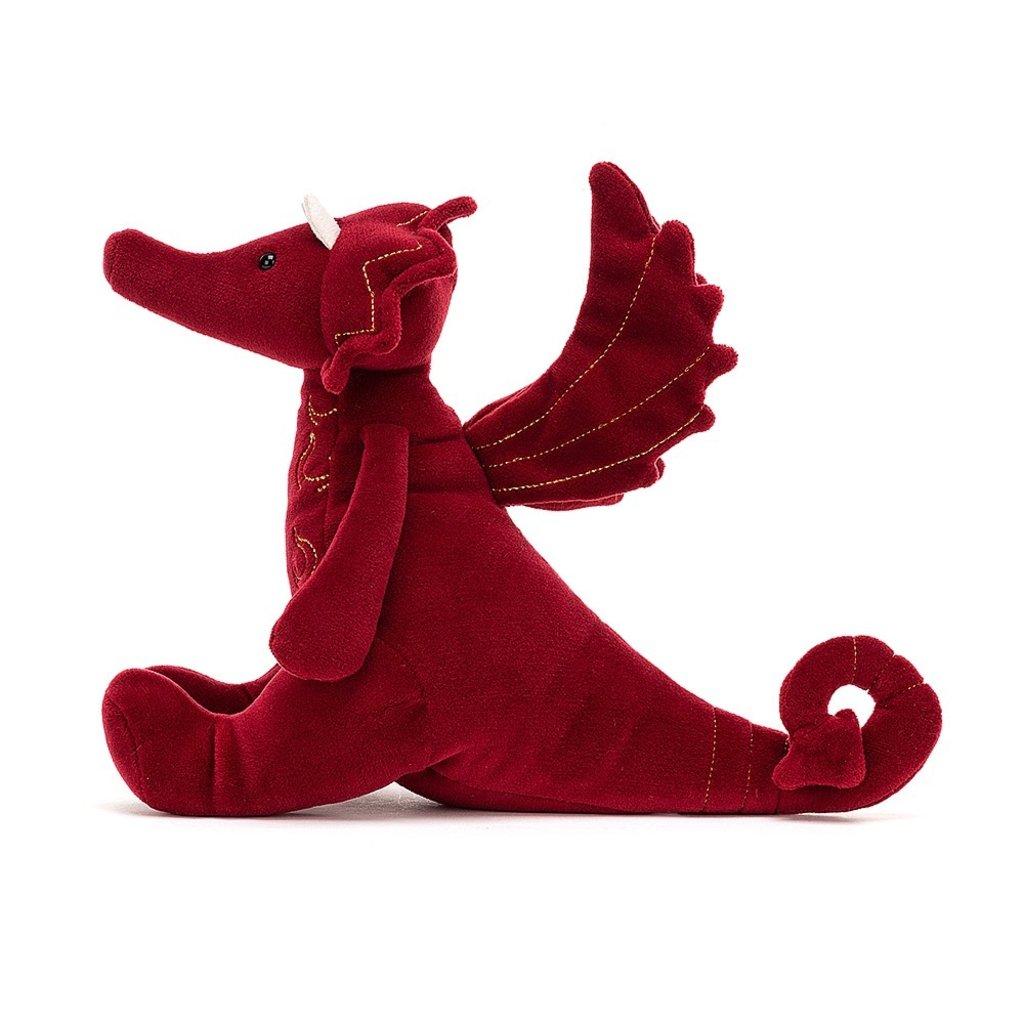 Jellycat - Little Legs Jellycat - Ruby Dragon