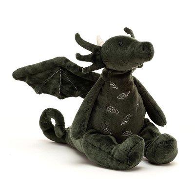 Jellycat - Little Legs Jellycat - Forest Dragon