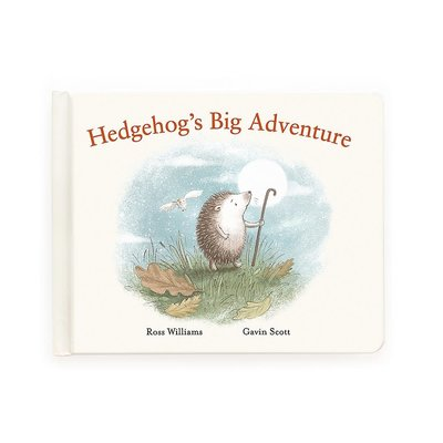 Jellycat - Story Book Jellycat - Hedgehogs Big Adventure - Story Book