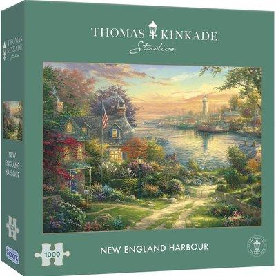 Thomas Kinkade New England Harbour 1000pcs Puzzle