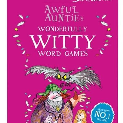 The Lagoon Group David Walliams - Awful Auntie's Wonderfully Witty Word Games