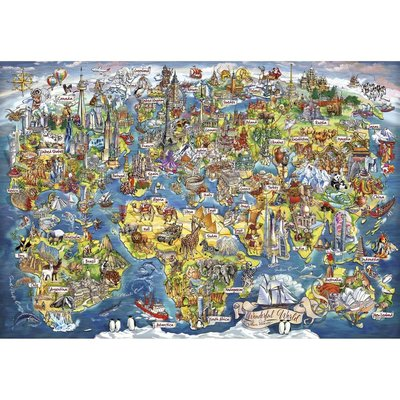 Gibsons Wonderful World Puzzle - 2000pcs