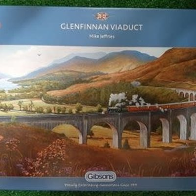 Gibsons Glenfinnan Viaduct Puzzle - 636pcs