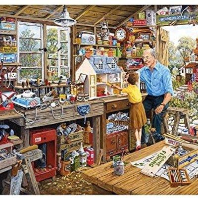 Gibsons Grandad's Workshop Puzzle - 1000pcs