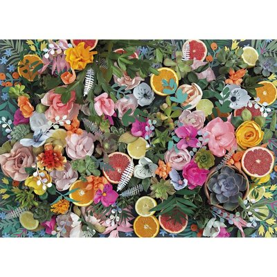 Gibsons Paper Flowers Puzzle - 1000pcs