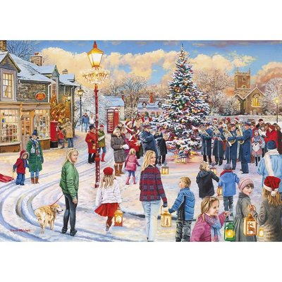 Gibsons Christmas Chorus Puzzle - 1000pcs