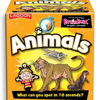 The Lagoon Group Brainbox Animals Card Game