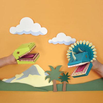 Dinosaur Puppets - DIY