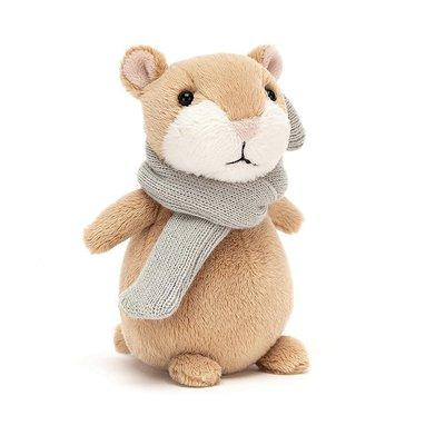 Jellycat - Little Legs Jellycat - Mini Happy Cinnamon Hamster