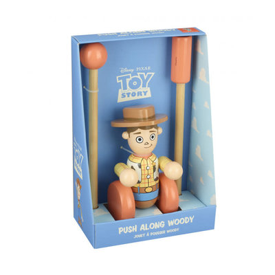 Toy Story Disney Push Along Woody - Boxed