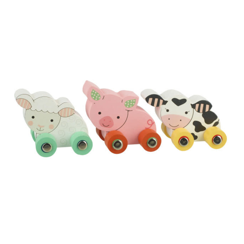 Orange Tree Toys My First Farm Animal Vehicles - Boxed