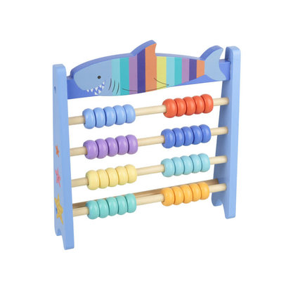 Orange Tree Toys Wooden Abacus - Shark