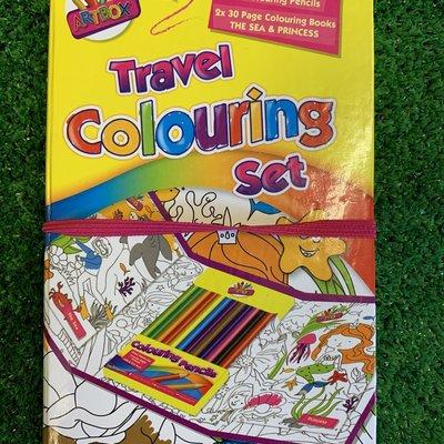 Art Box Children's Travel Colouring Set