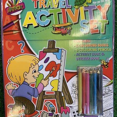 Art Box Children's Travel Activity Set