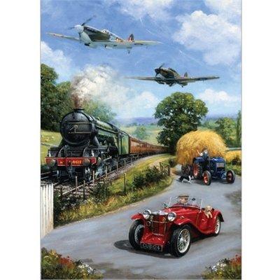1000pcs - Nostalgic Transport - Puzzle