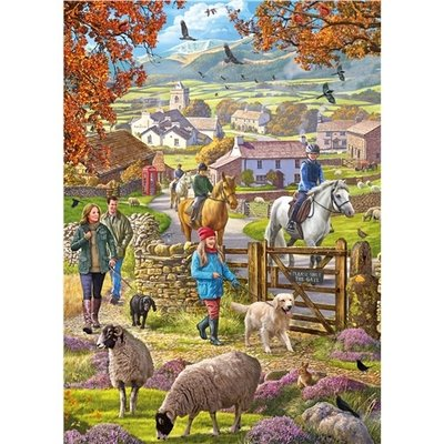 1000pcs - Autumn Walk - Puzzle