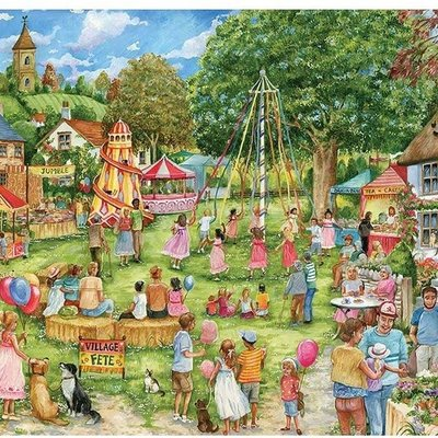 1000pcs - Village Fete - Puzzle