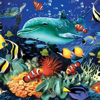 1000pcs - Coral Reef - Puzzle
