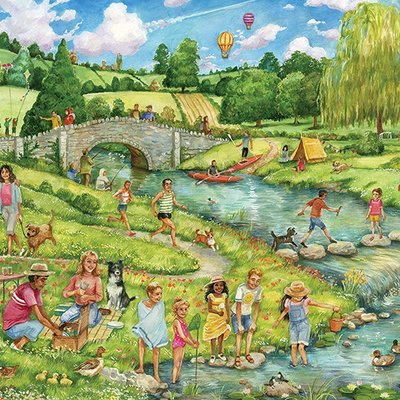 1000pcs - The Great Outdoors - Puzzle