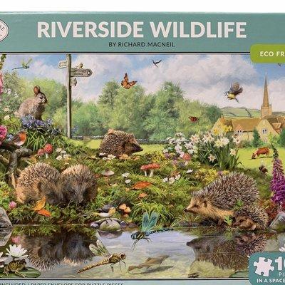 1000pcs - Riverside Wildlife - Puzzle