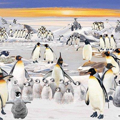 1000pcs - Penguin Party - Puzzle