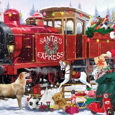 1000pcs - Santa's Express - Puzzle