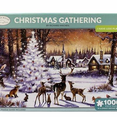 1000pcs - Christmas Gathering - Puzzle