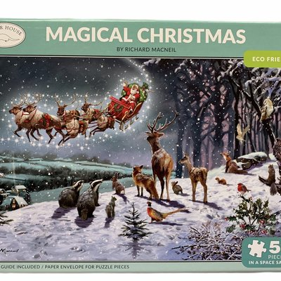 500pcs - Magical Christmas - Puzzle