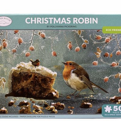500pcs - Christmas Robin - Puzzle