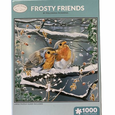 1000pcs - Frosty Friends - Square Puzzle