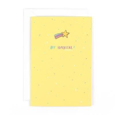 Flair Superstar - Pin Card